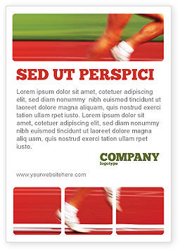 Race Ad Template, 02056, Sports — PoweredTemplate.com