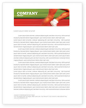 Sports: Race Letterhead Template #02056