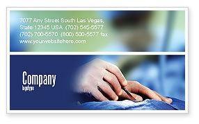 Medical: Urgent Surgery Business Card Template #02063