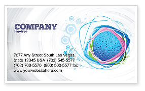 Abstract/Textures: Drops Business Card Template #02066