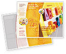 Education & Training: Modello Brochure - Abc lettere #02072
