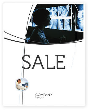 Medical: Gastroenterology Sale Poster Template #02075