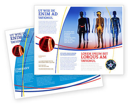 Medical: Systems of Body Brochure Template #02086
