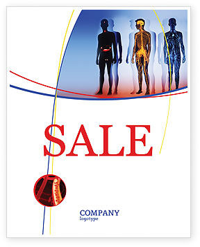 Systems of Body Sale Poster Template, 02086, Medical — PoweredTemplate.com