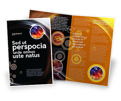 Abstract/Textures: Whirlpool Brochure Template #02087