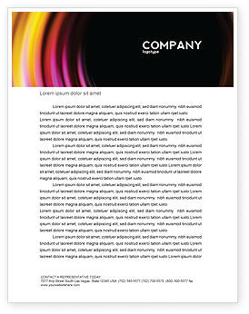 Abstract/Textures: Whirlpool Letterhead Template #02087