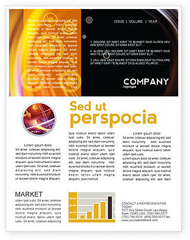 Whirlpool Newsletter Template, 02087, Abstract/Textures — PoweredTemplate.com