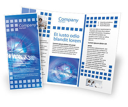 Web Hosting Brochure Template