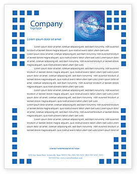 Telecommunication: Web Hosting Letterhead Template #02088