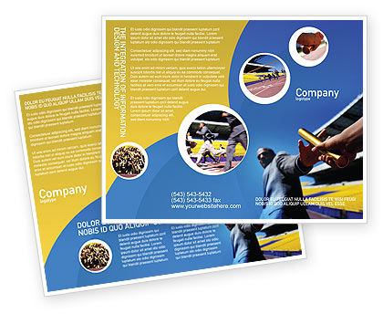 Business Concepts: Sprint Brochure Template #02097