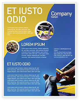 Business Concepts: Sprint Flyer Template #02097