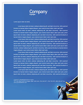 Business Concepts: Sprint Letterhead Template #02097