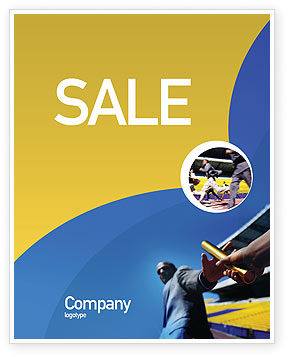 Business Concepts: Sprint Poster Template #02097