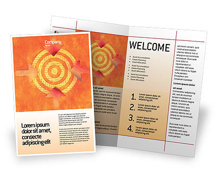 Business Concepts: Target Brochure Template #02098