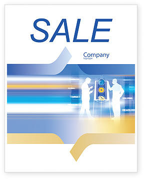 Business: Aim Sale Poster Template #02100