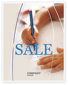 Education & Training: Child Learning Sale Poster Template #02106