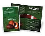 Sports: Plantilla de folleto - juego de pelota #02110