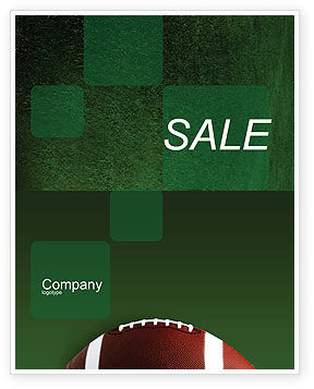 Sports: Ball Game Sale Poster Template #02110