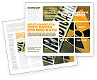 Utilities/Industrial: Radioactive Brochure Template #02111