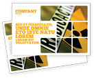 Utilities/Industrial: Radioactive Postcard Template #02111