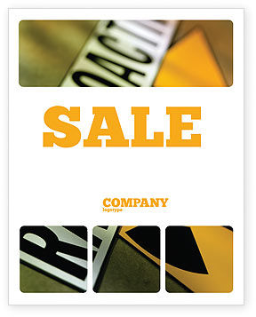 Utilities/Industrial: Radioactive Sale Poster Template #02111