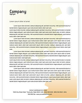 Technology, Science & Computers: Business Mechanism Letterhead Template #02122