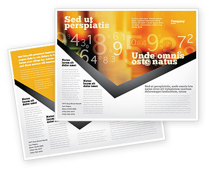 Technology, Science & Computers: Abstract Digital Brochure Template #02130