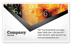 Technology, Science & Computers: Abstract Digital Business Card Template #02130