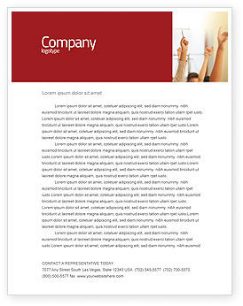 Education & Training: School Activity Letterhead Template #02137