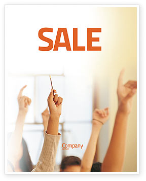 School Activity Sale Poster Template