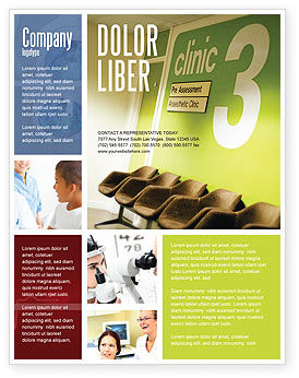 Medical: Clinic Flyer Template #02147