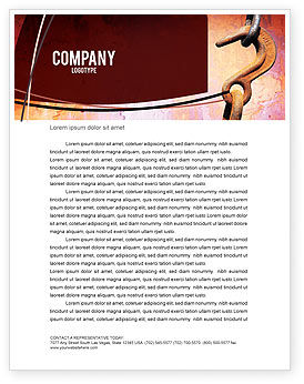 Utilities/Industrial: Hook Letterhead Template #02152