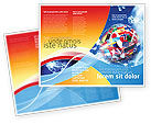 Global: World Flags Brochure Template #02153