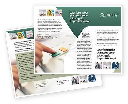 Telecommunication: Fax Brochure Template #02154
