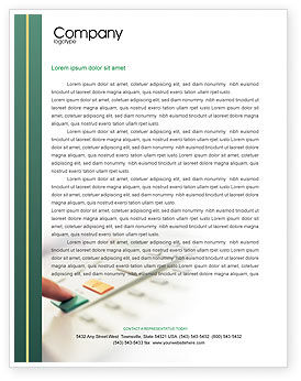 Fax Letterhead Template, 02154, Telecommunication — PoweredTemplate.com