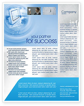 Digital Computing Technology Flyer Template