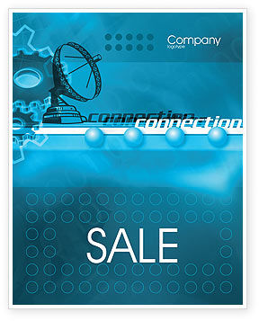 Telecommunication Systems Sale Poster Template, 02168, Telecommunication — PoweredTemplate.com