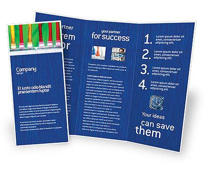 Telecommunication: Modèle de Brochure de commutateur internet #02170