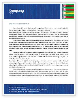Internet Switch Letterhead Template, 02170, Telecommunication — PoweredTemplate.com
