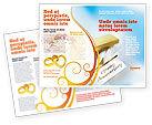 Holiday/Special Occasion: Gelukkige Verjaardag Brochure Template #02177