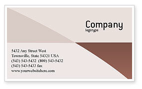 Technology, Science & Computers: Laptop Computer Business Card Template #02180
