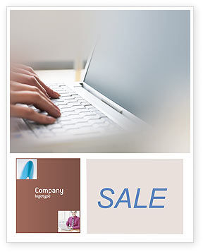 Technology, Science & Computers: Laptop Computer Sale Poster Template #02180