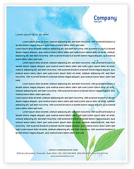 Nature & Environment: Pure Nature Letterhead Template #02183