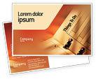 Business: Task List Postcard Template #02185