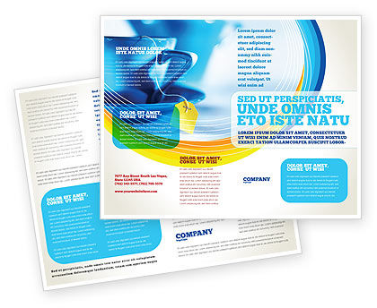 Tea Brochure Template, 02187, Food & Beverage — PoweredTemplate.com