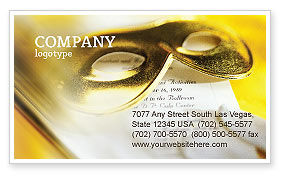 Art & Entertainment: Masquerade Business Card Template #02188