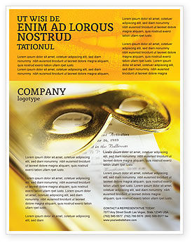 Masquerade Flyer Template, 02188, Art & Entertainment — PoweredTemplate.com