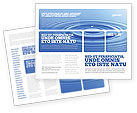 Nature & Environment: Water Purification Brochure Template #02190