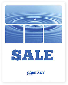 Water Purification Sale Poster Template