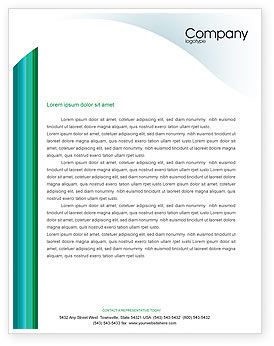 Technology, Science & Computers: Internet Technologies Letterhead Template #02191